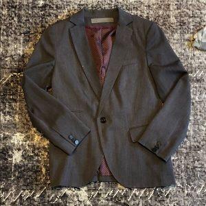 Zara grey and purple blazer!